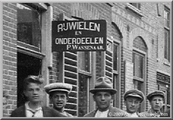P. Wassenaar rijwielen zaak