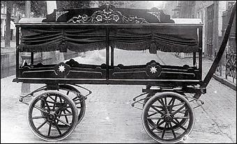 Aalsmeerse begrafeniswagen