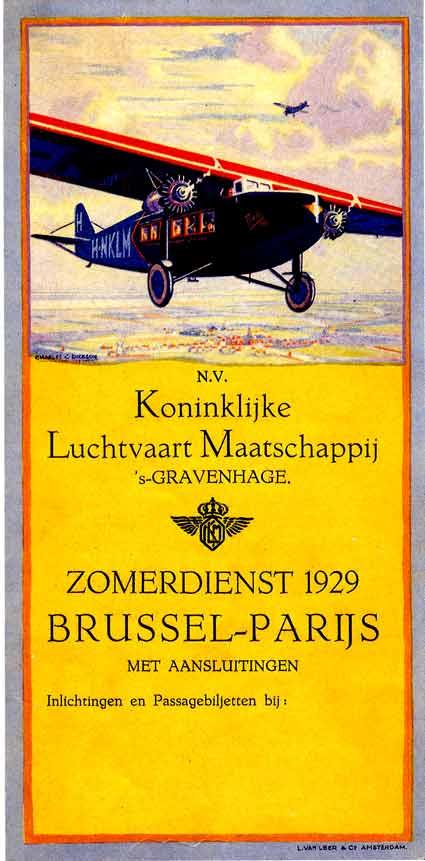 KLM dienstregeling