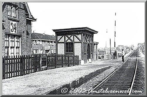Station AmsterdamsewegHalte 34
