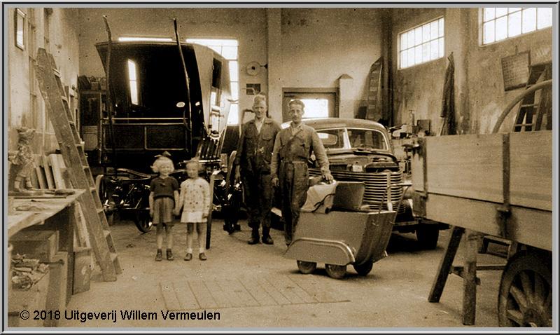Autoschilder Spuitinrichting v/d Zwaart 1924