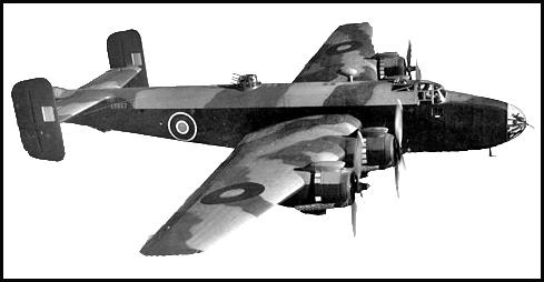 Halifax Mk.III en berging