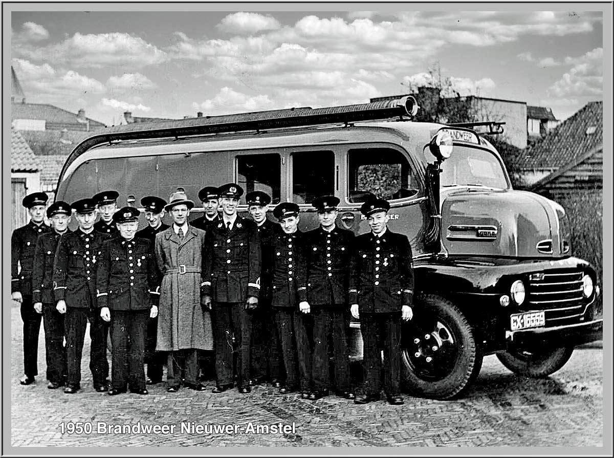 BrandweerwagenFord-autospuit