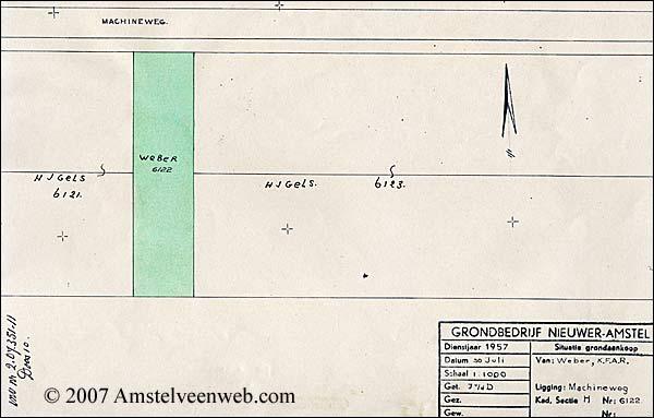 Machineweg - Perceel Weber