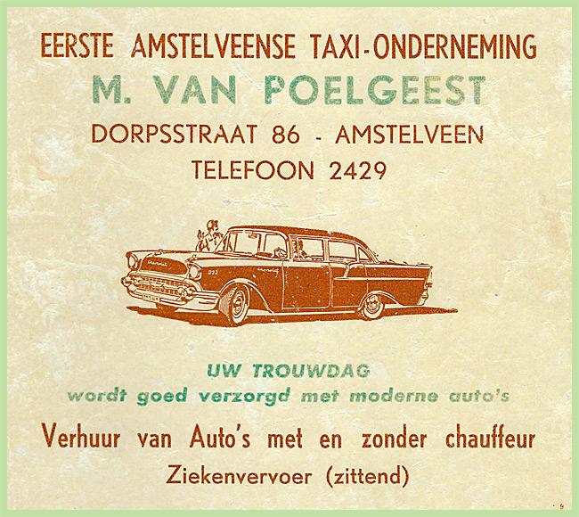 86 - Taxi-OndernemingM.van Poelgeest