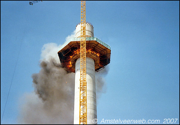 Brand in toren