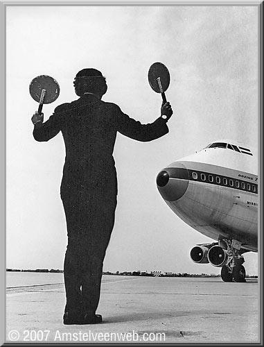 Eerste  KLM Boeing-747