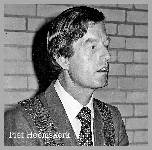 Piet Heemskerk overleden