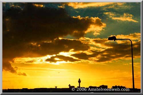 Schiphol wolken