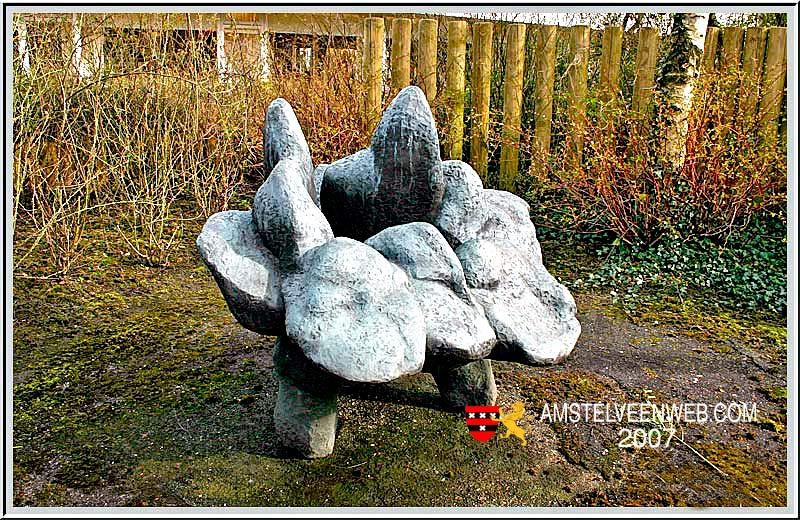 Bronzen beeld van Auke Hettema