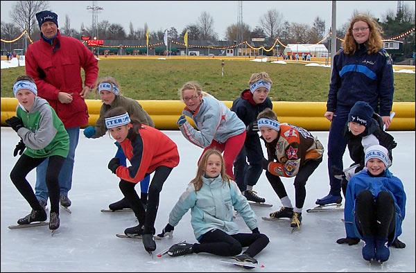 Poelster schaatsseizoen