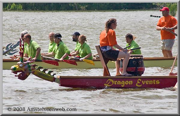 Drakenbootrace 2008op de Poel