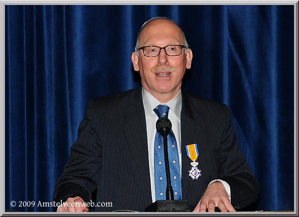 Ben Blog ontvangt  Koninklijke Onderscheiding