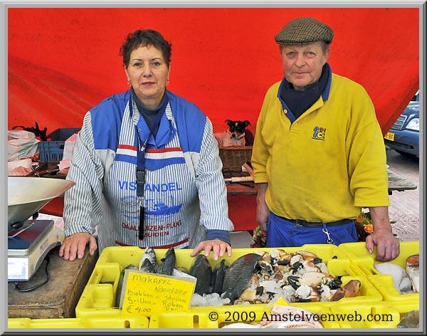 Afscheid van viskraam Daalhuizen