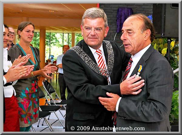 Hans Oosterling ontvangt  Koninklijke Onderscheiding