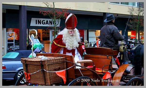 Sinterklaas toerde rond
