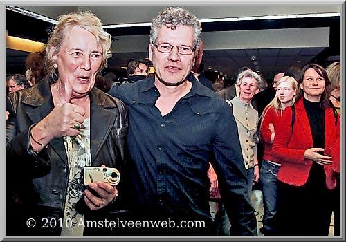 Axel Boomgaars (GroenLinks) en Grea Twint (SP)