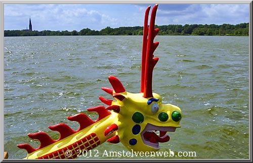 Drakenbootrace 2012op de Poel