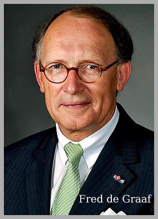 Interim Burgemeester Fred de Graaf