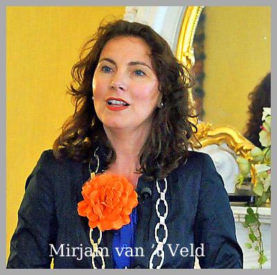 Mirjam van 't Veld  Nieuwe Burgemeester