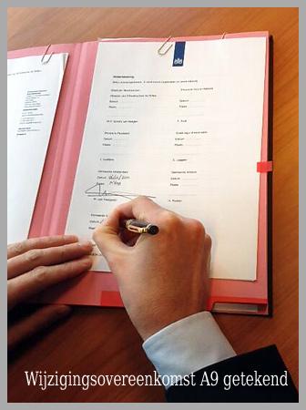 Wijzigingsovereenkomst A9