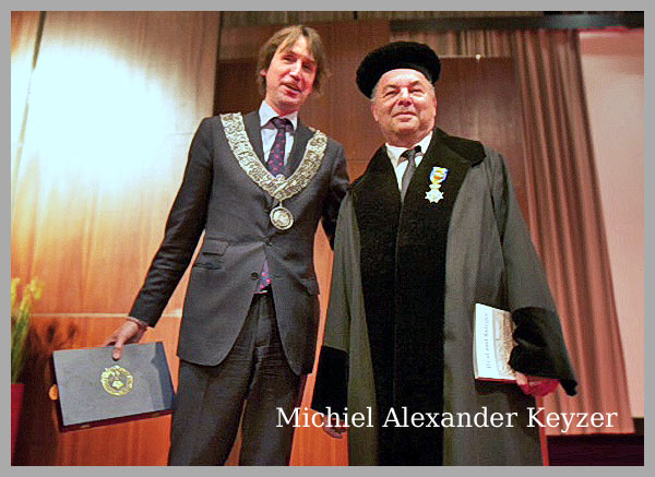 Prof. dr. M.A. Keyzer  Koninklijke Onderscheiding