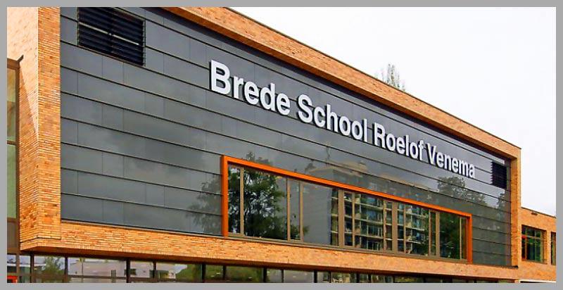 Roelof Venema en Triangel nu Brede School  Laan Rozenburg