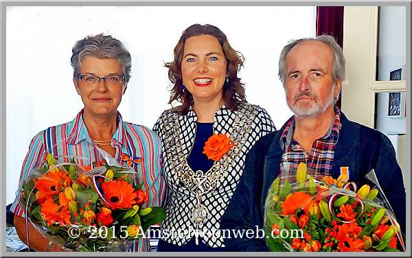 Amstelveenweb.com - José en Stefan ontvangen  Koninklijke Onderscheiding