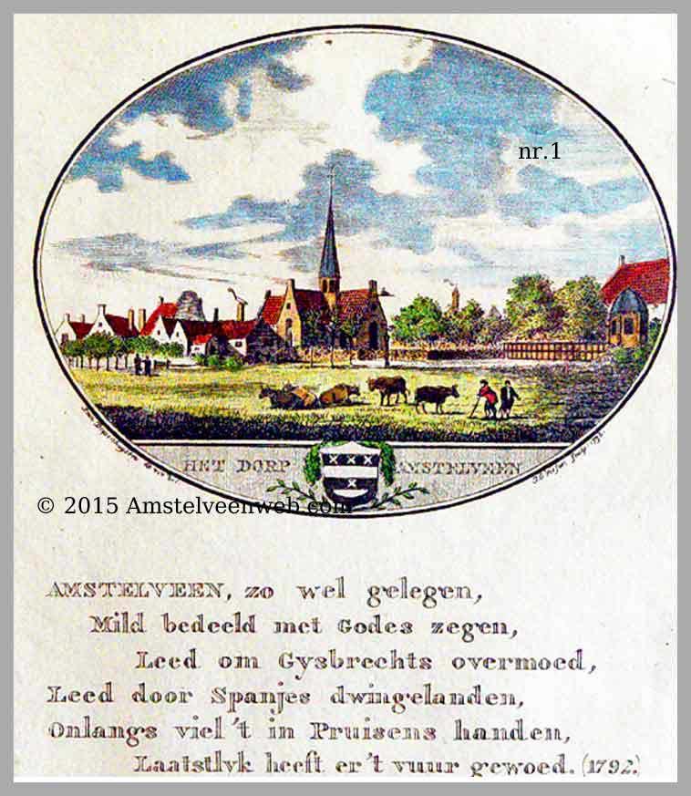 Amstelveen in prent