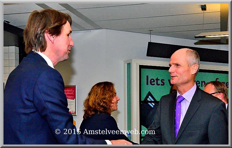 Minister Stef Blok in Amstelveen