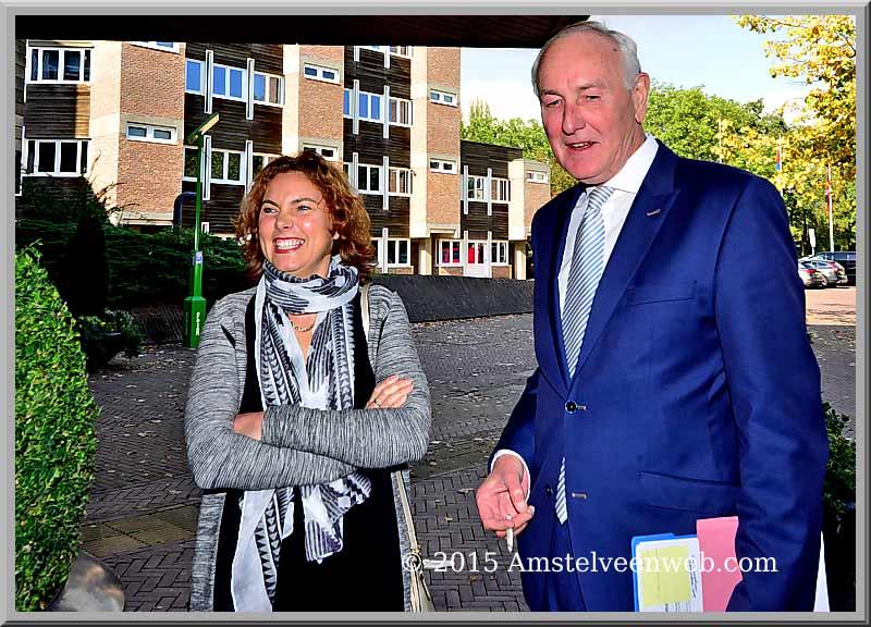 Johan Remkes bezoekt Amstelveen