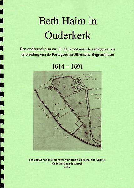 Beth Haim in Ouderkerk boek