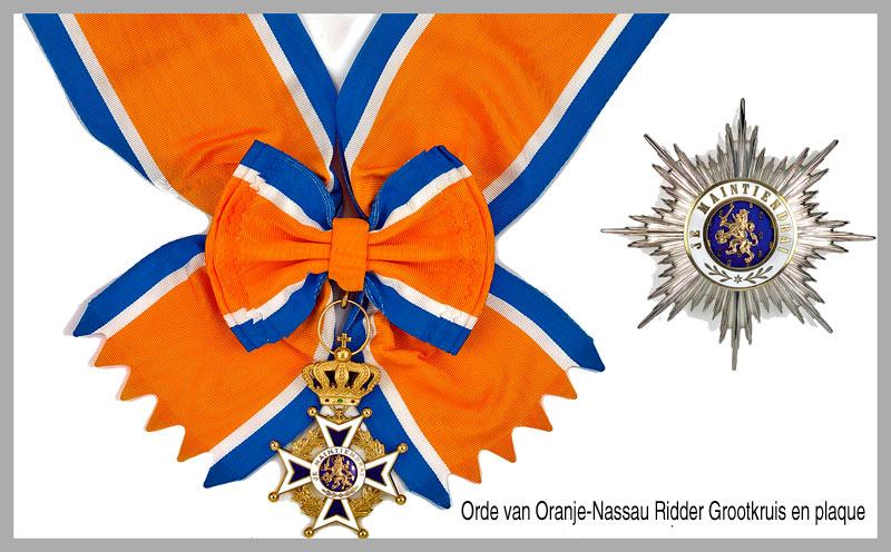 Orde van Oranje-Nassau125 jaar