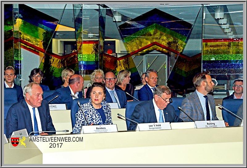 Afscheid Mirjam van 't VeldBuitengewone Raadsvergadering