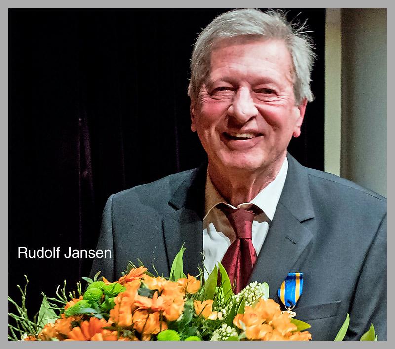 Rudolf Jansen ontvangtKoninklijke Onderscheiding