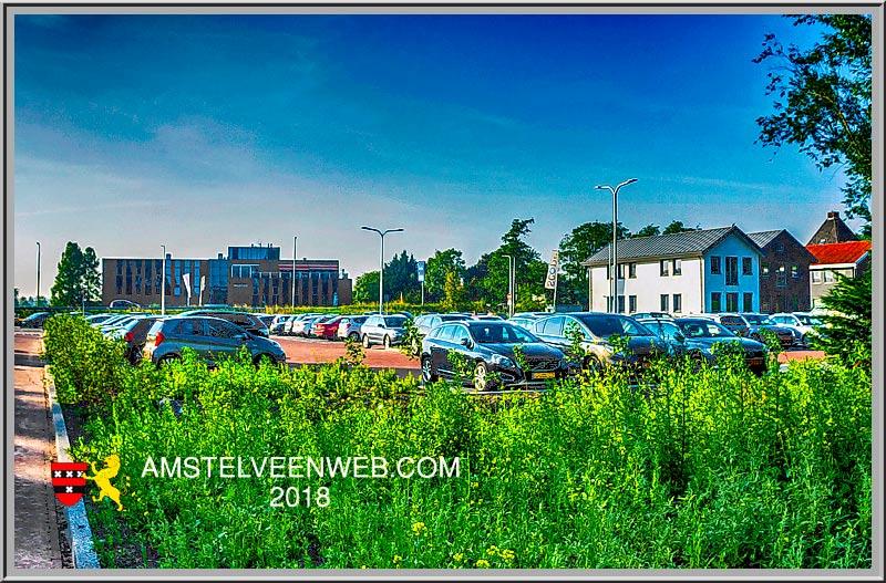 Nieuw parkeerterrein Amstelzijde
