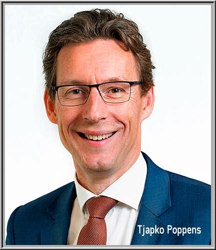 Tjapko Poppens voorgedragen als  Burgemeester van Amstelveen