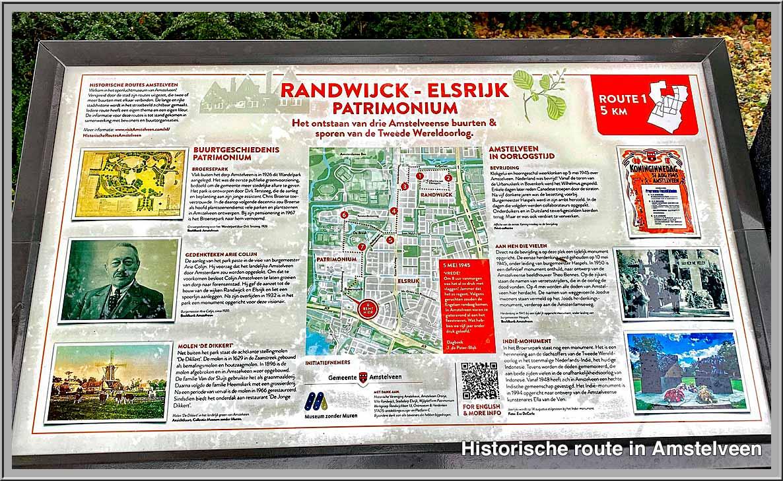 Historische routeRandwijck, Elsrijk, Patrimonium